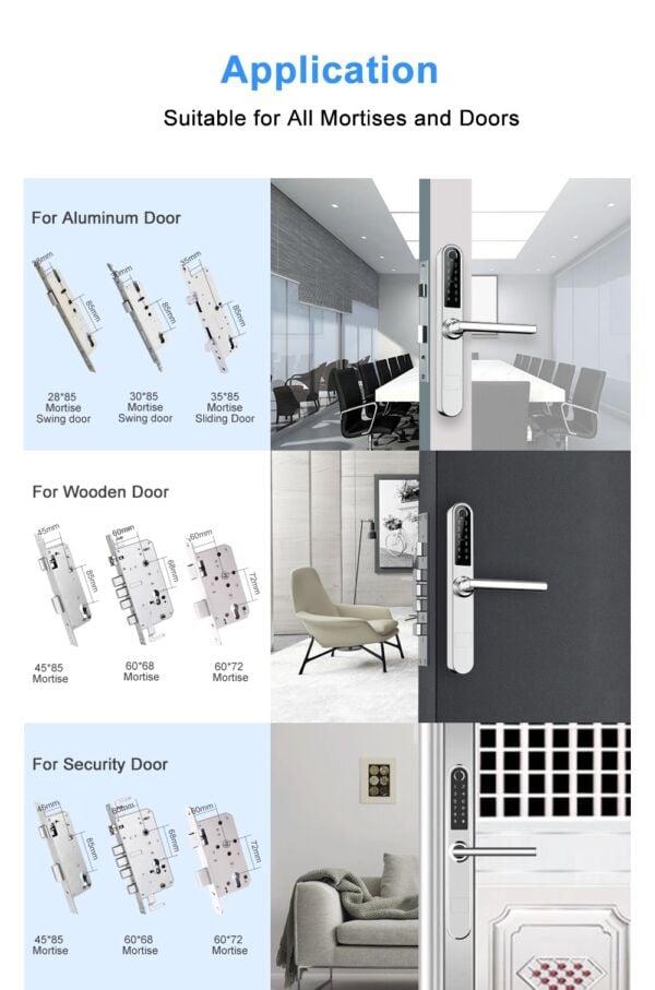 Durų spyna iNOVO