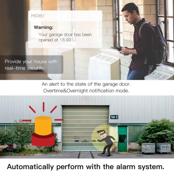 Kiemo ir garažo vartų Wi-Fi valdiklis