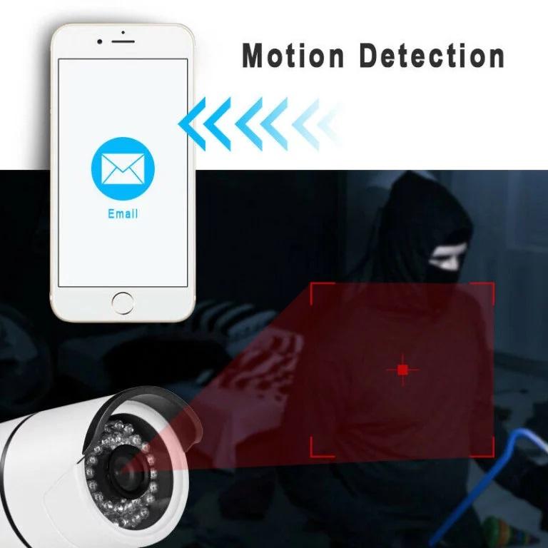 5MP IP cilindrinė (Bullet) vaizdo kamera balta