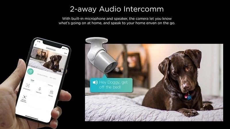 Lauko Wi-Fi vaizdo stebėjimo kamera