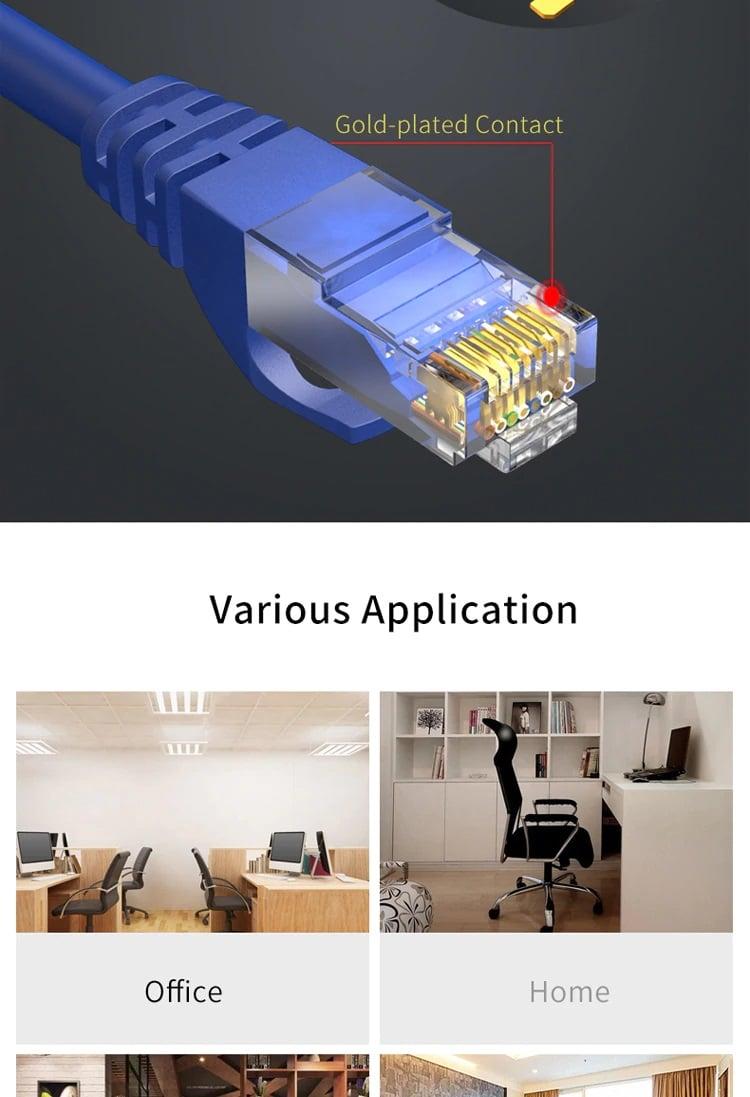 Tinklo kabelis kameroms CAT6 30m