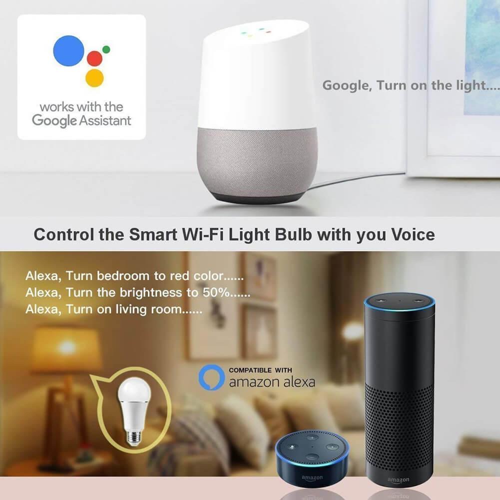 Apšvietimo lemputė Wi-Fi 1