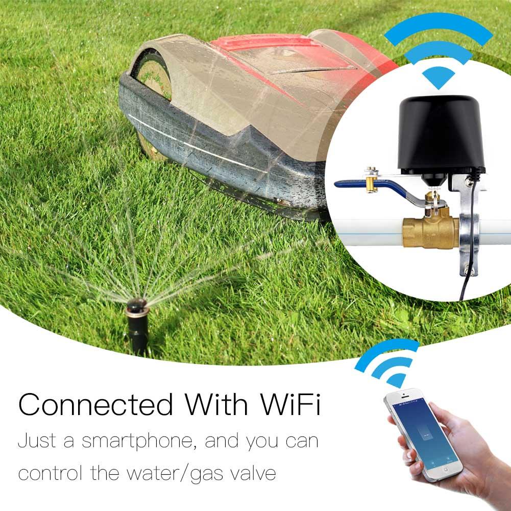 Vandens vožtuvo ventilio valdiklis Wi-Fi