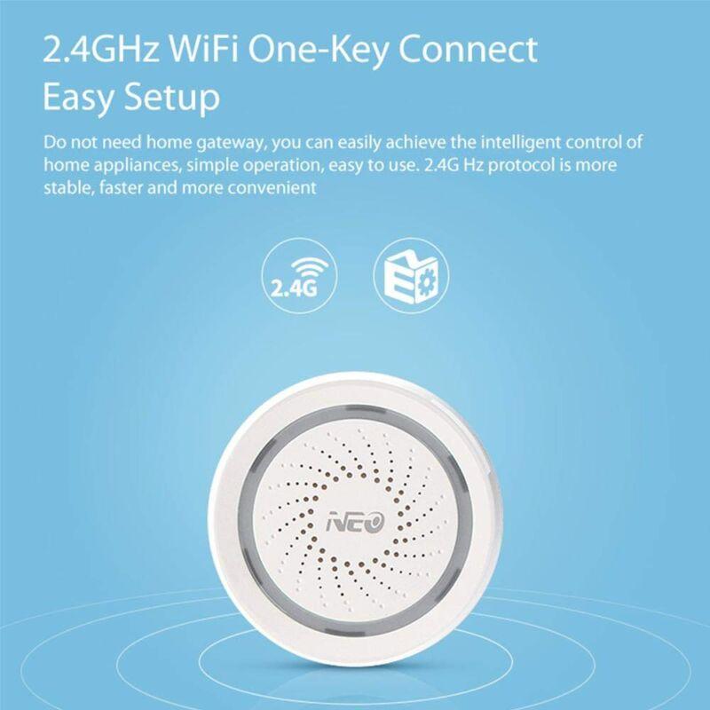 Wi-Fi apsaugos sirena